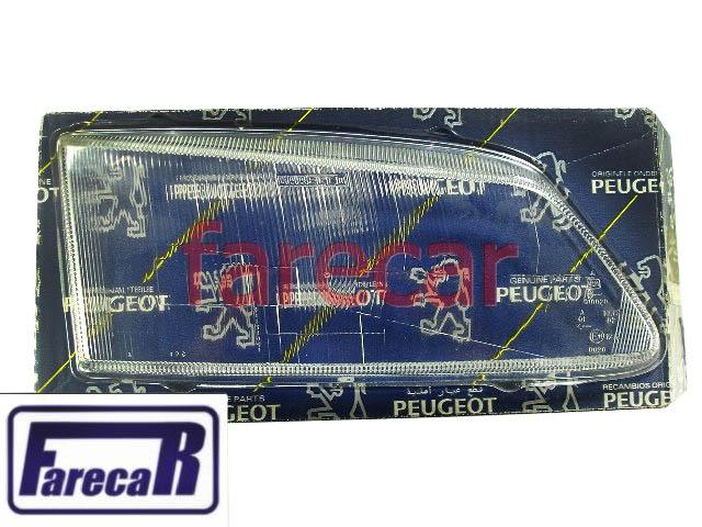 Lente Vidro Do Farol Peugeot 306 1993 a 1996 Original Nova  - Farecar Comercio