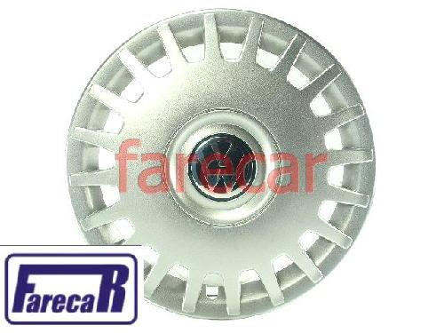 Calota Da Roda Golf 1999 a 2004 Nova Original Vw  1J0601147HGJW   - Farecar Comercio