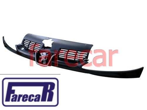 Grade Radiador Peugeot 206 Completa Nova Original C/ Emblema  - Farecar Comercio