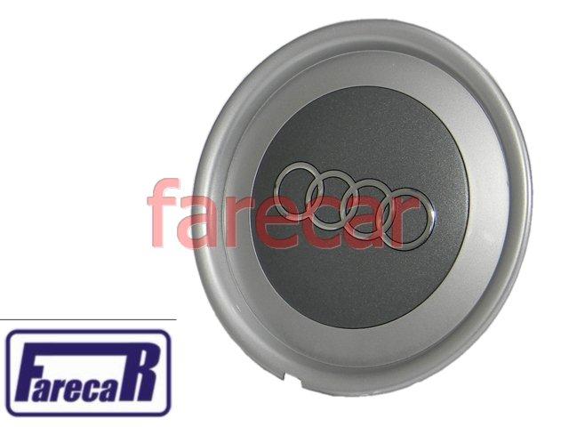 Calota Do Miolo Da Roda Audi A3 Cinza Nova  - Farecar Comercio