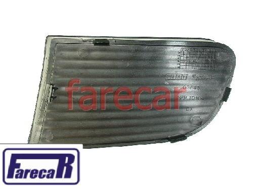 Moldura Grade Parachoque Fiat Idea S/furo Milha Original  - Farecar Comercio