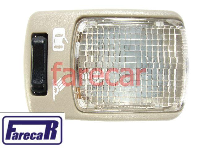 Lanterna Teto Luz De Leitura Bege Santana 99 a 06 Original  - Farecar Comercio