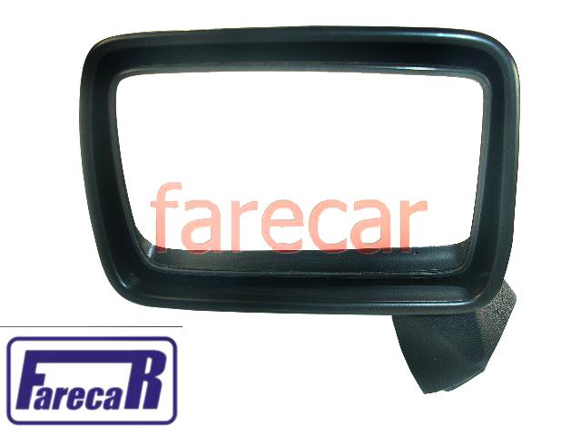 Espelho Retrovisor Fixo Vw Passat 1974 a 1989 Novo  - Farecar Comercio