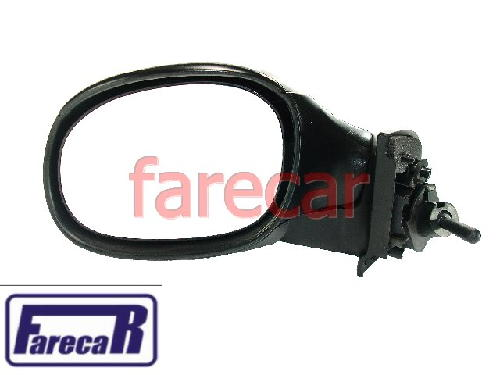 Espelho Retrovisor Citroen C3 03 a 08 Controle Alavanca Novo  - Farecar Comercio