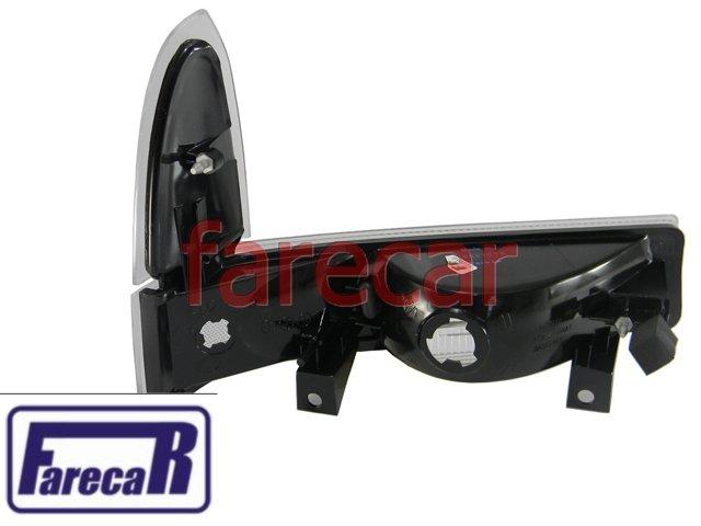 Par Lanterna Pisca Seta F-250 F250 Cristal 1998 a 2007 Novo F350  - Farecar Comercio