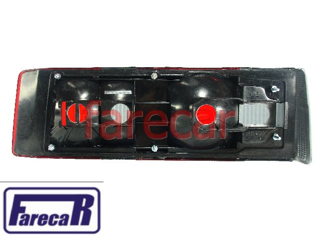 Lanterna Traseira Hobby 92 a 96 e Escort 87 a 92 Fume  - Farecar Comercio