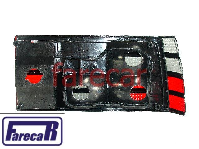 Lanterna Monza 1982 A 1990 Fume Com Friso Preto Nova  - Farecar Comercio