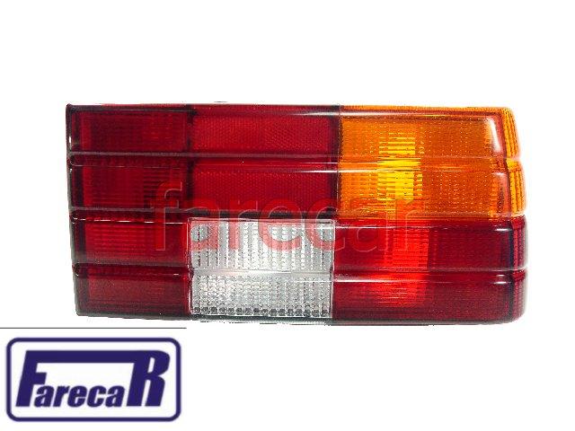 Lanterna Traseira Monza 1982 A 1990 Tricolor Sem Friso Nova  - Farecar Comercio