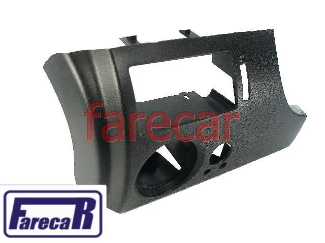 Moldura Painel C/ Furo Retrovisor Gol Parati G3 Preto Esquerdo  - Farecar Comercio