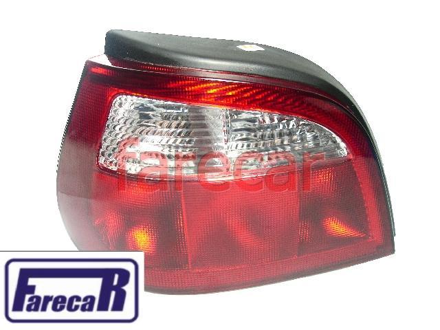 Lanterna Traseira Renault Megane Hatch 2000 a 2004 Nova  - Farecar Comercio