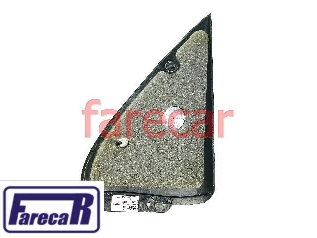 Moldura Espelho Retrovisor Gol 4 Portas G2 G3 Sem Furo Preta 373857506999 373857505999  - Farecar Comercio