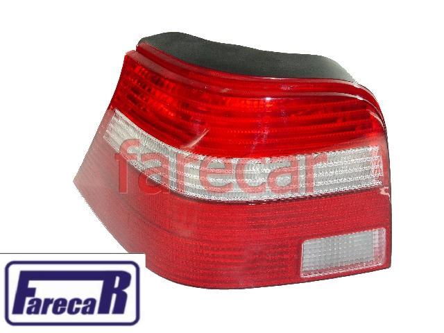 Lanterna Traseira Golf Generation 99 a 07 Pisca Branco Nova  - Farecar Comercio