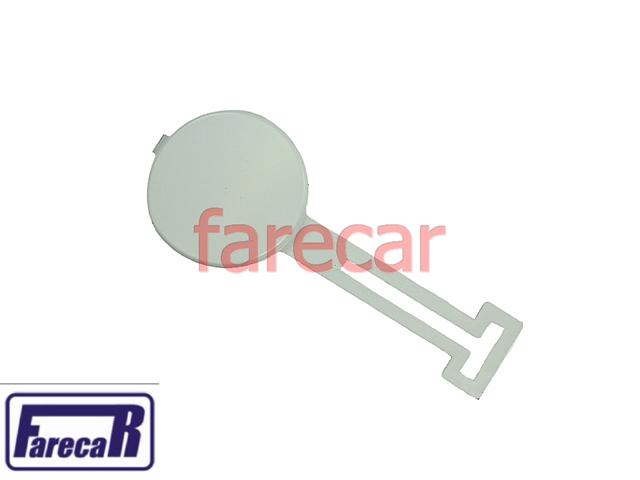 Tampa Primer Furo Reboque Parachoque Dianteiro Citroen C3 2003 A 2007 03 04 05 06 07 2004 2005 2006  - Farecar Comercio