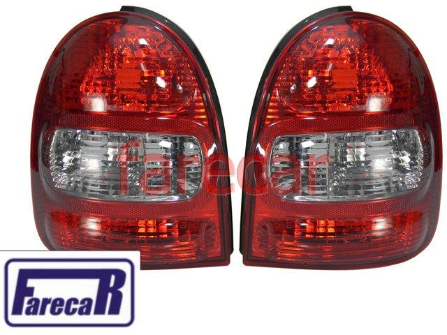 Kit Lanterna Traseira Bolha Corsa WIND Hatch 2 Portas Com Soquete  - Farecar Comercio