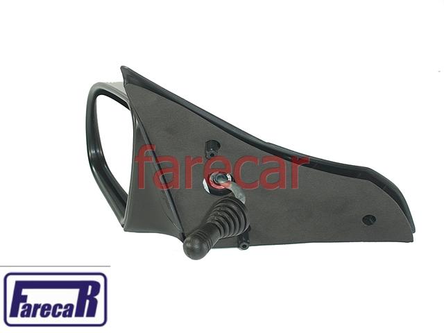 Espelho Retrovisor Corsa 94 A 02 e Classic até 2010 Controle Alavanca  - Farecar Comercio