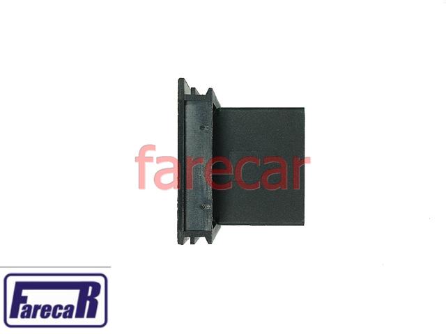 Botao Vidro Eletrico Simples Fiat Uno Elba Led Verde  - Farecar Comercio