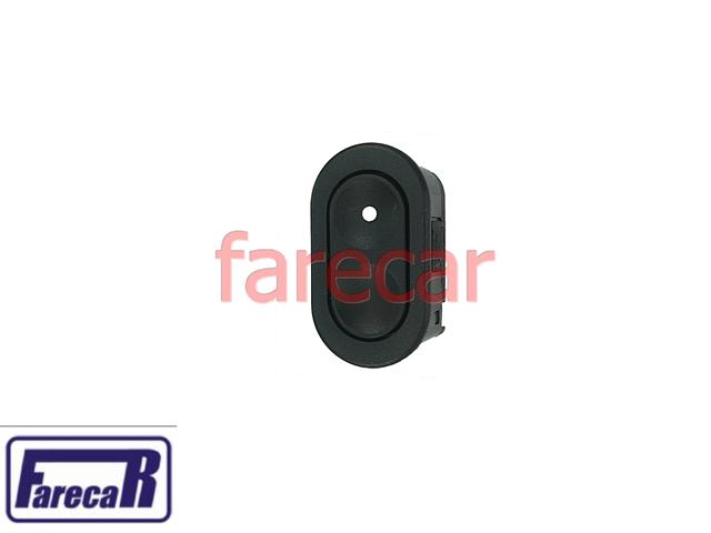 Botao Vidro Eletrico 6 Pinos Simples Corsa 95 a 02 Classic TODOS  - Farecar Comercio