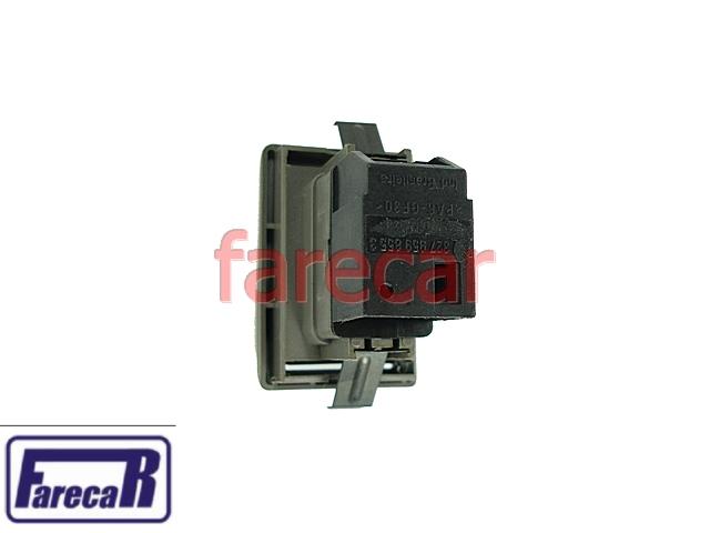 Botao Vidro Eletrico Traseiro Santana e Quantum 99 a 06  - Farecar Comercio