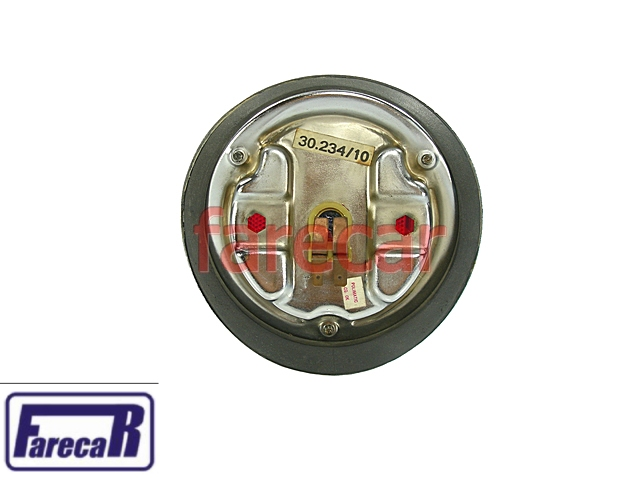 Lanterna Vermelha GM Caravan 75 a 79 Sem Re Original Esquerda  - Farecar Comercio