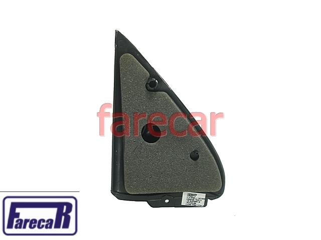 Acabamento Int Espelho Retrovisor Gol 2 Portas Grafite 377857506B71N 377857505B71N  - Farecar Comercio