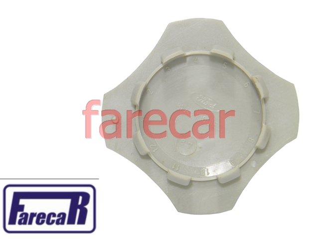 Calota Miolo Da Roda Trevo Escort Xr3 84 A 86 Original Ford  - Farecar Comercio