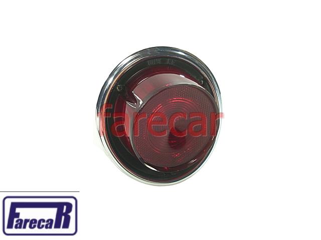 Lanterna Vermelha GM Opala 75 a 79 Sem Re Original Esquerdo  - Farecar Comercio