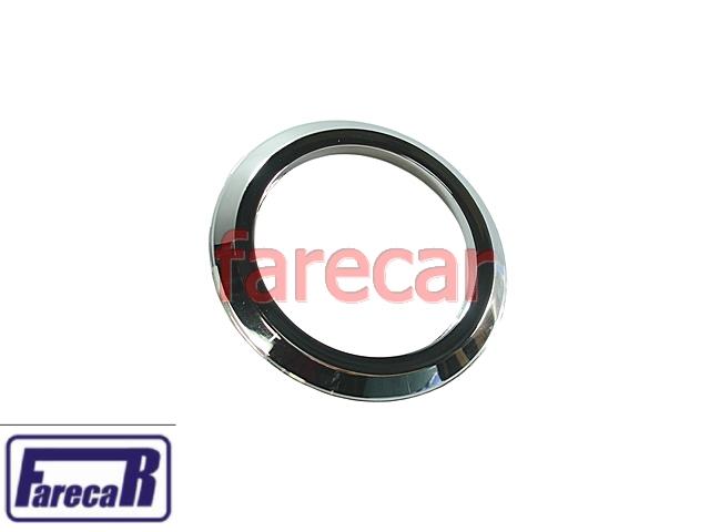 Kit Aplique Aro Cromado Grade Ar Celta 01 a 10 e Prisma  - Farecar Comercio