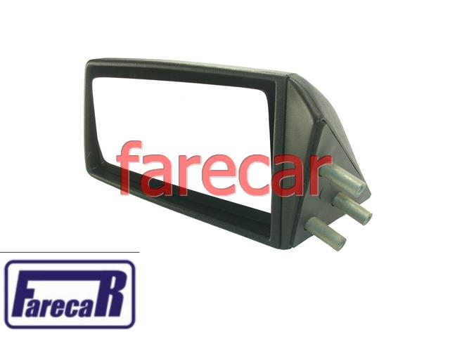 Espelho Retrovisor Fixo Gol 1000 FOX 92 a 94 Esquerdo Metagal  - Farecar Comercio