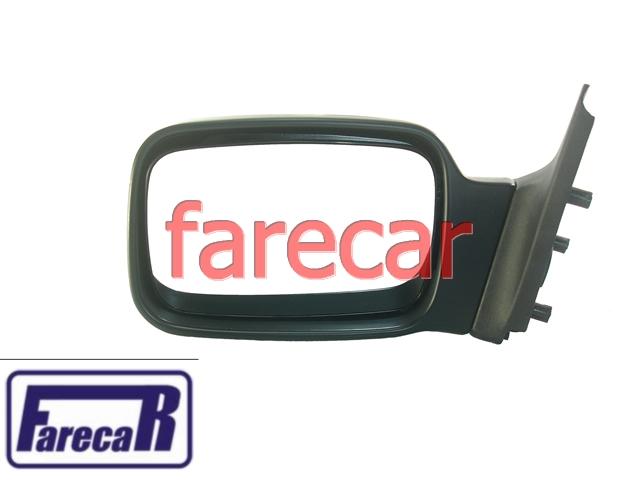 Espelho Retrovisor Fixo Escort Verona Hobby Esquerdo Orig  - Farecar Comercio