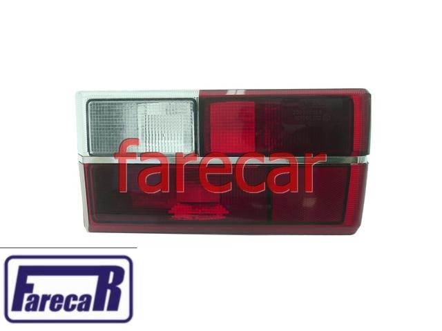 Par Lanterna Vermelha Gol 80 a 86 Com Friso Cromado Original  - Farecar Comercio