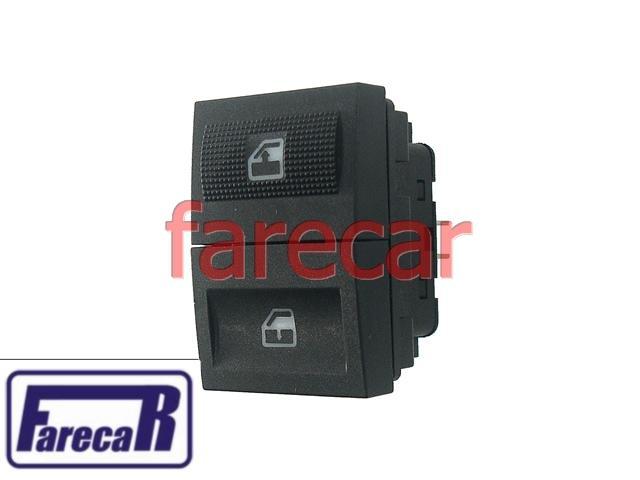 Botao Painel Vidro Eletrico Gol Parati Saveiro G3 00 a 03  - Farecar Comercio