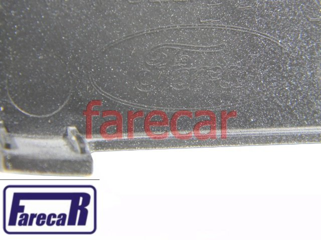 TAMPA FURO GANCHO REBOQUE PARACHOQUE TRASEIRO FORD FOCUS HATCH 2009 A 2013 - 09 10 11 12 13 2010 2011 2012  - Farecar Comercio