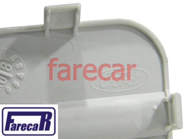 TAMPA FURO GANCHO REBOQUE PARACHOQUE TRASEIRO FORD FOCUS SEDAN 2010 A 2013 - 10 11 12 13 2010 2011 2012  - Farecar Comercio