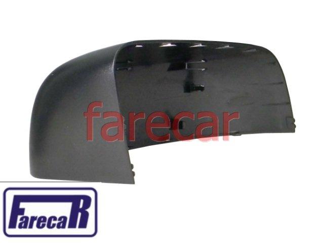 capa preta lado direito do espelho retrovisor Ford Ranger 2013 2014 13 14  - Farecar Comercio