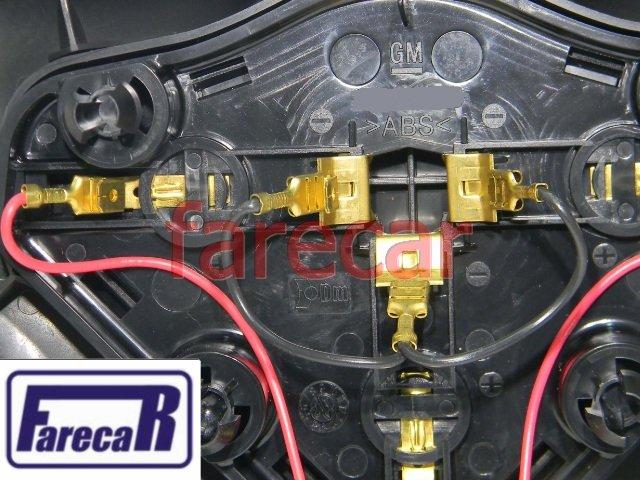tampa do volante Botao buzina original GM 93304266 Vectra Novo 2006 2007 2008 2009 2010 2011 2012  - Farecar Comercio