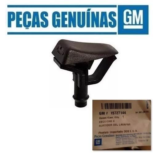 02 Brucutu Esguicho Lavador Para-brisa Blazer S10 Original 15727144   - Farecar Comercio