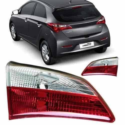 Lanterna Traseira tampa mala Hyundai Hb20 Hatch 2012 2013 2014 2015  - Farecar Comercio
