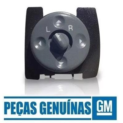 Botão do espelho retrovisor eletrico Original GM 15009690 S10 BLAZER SILVERADO GRAND BLAZER 1995 1996 1997 1998 1999 2000 2001 2002 2003 2004 2005 2006 2007 2008 2009 2010 2011  - Farecar Comercio