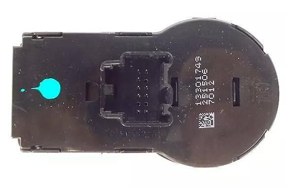 chave comando regulador  farol luz neblina e botao farol milha 9 pinos Original Gm 13301749 Spin Cobalt Sonic Onix Cruze S10  - Farecar Comercio