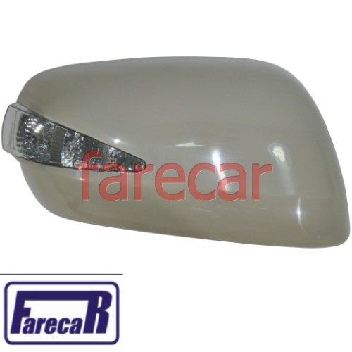 Kit par de capa com pisca espelho retrovisor Honda Fit 2009 2010 2011 2012 2013 09 10 11 12 13  - Farecar Comercio