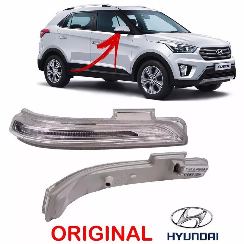 Lanterna de pisca seta da capa do espelho retrovisor direito Hyundai Creta 2017 2018   - Farecar Comercio