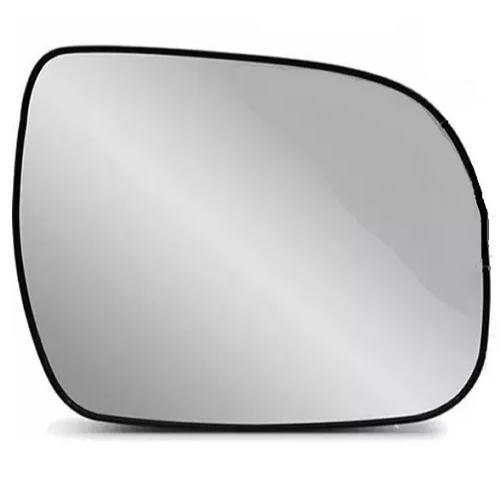 Subconjunto de Lente de Vidro espelhada Com Base para Espelho Retrovisor Direito Nissan Kicks 2016 2017 2018 2019  - Farecar Comercio