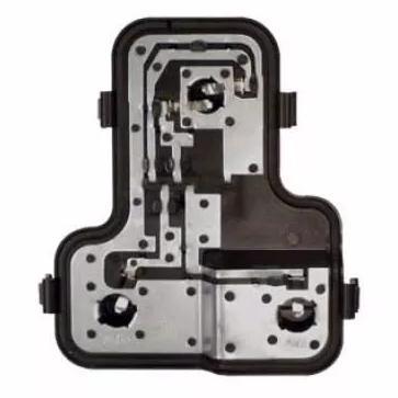 tampa soquete circuito da lampadas da lanterna traseira do Fiat Uno 2004 2005 2006 2007 2008 2009 2010   - Farecar Comercio