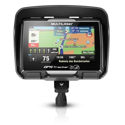 GPS Multilaser Tracker para Moto 4.3 Polegadas GP022 (GP040)