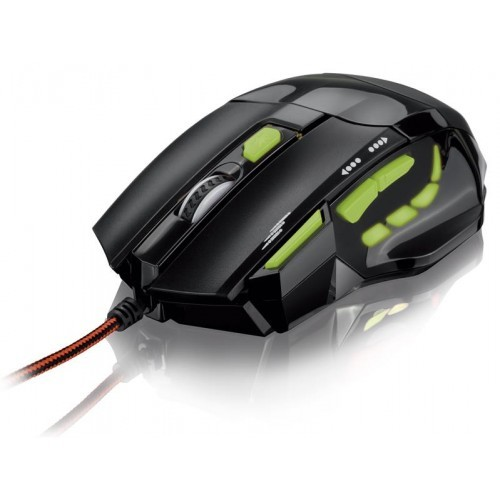 Mouse Otico com LED USB Gamer 2400 DPI Multilaser MO208