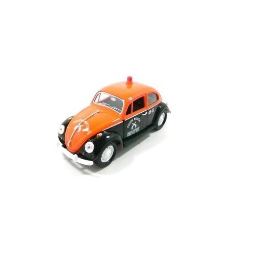 Carrinho California TOYS VW Fusca Policia Militar de SP 1967 Escala 1:24 24202-2
