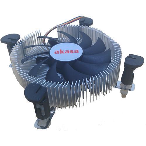 Cooler AKASA LOW Profile para INTEL LGA 775 e 1156 AK-CC7122EP01
