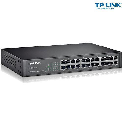 Switch 24 Portas TP-LINK TL-SF1024D 10/100 MBPS
