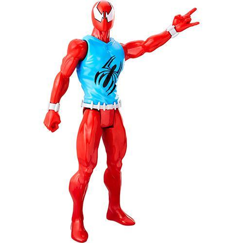 Boneco HOMEM-ARANHA Titan Hero Scarlet Spider Hasbro B9710/C0018 12023