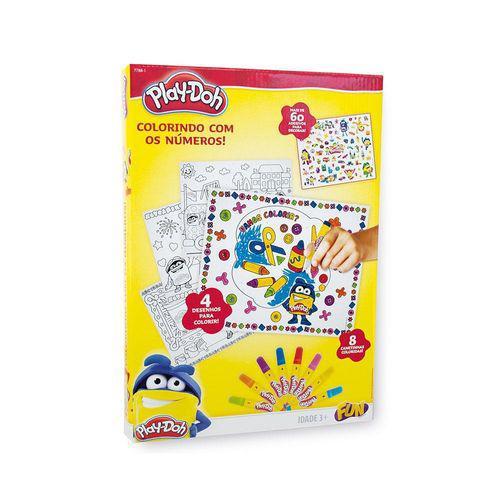 Play DOH Colorindo com Numeros FUN 7788-1